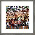 The Carousel Ride Framed Print