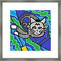 The Cat Rescuer Framed Print by Anita Dale Livaditis