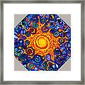 The Center Of All Beings Framed Print