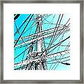 The Charles W Morgan Framed Print