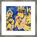 The Chorus Line Framed Print by Don Larison