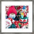 The Christmas Clown II Framed Print