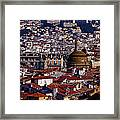 The City From Parc Du Chateau Castle Framed Print