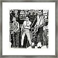 The Clash 1982 Framed Print by Chuck Spang