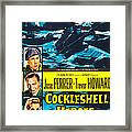 The Cockleshell Heroes, Us Poster, Left Framed Print