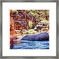 The Colors Of Oak Creek Framed Print