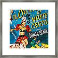 The Countess Of Monte Cristo, Us Poster Framed Print