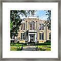 The Courthouse Framed Print