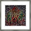 The Crawdad Digital Art Framed Print