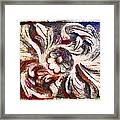 The Crayoned Leaves  Framed Print