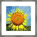 The Day Of The Sunflower Framed Print by Lorraine Heath