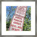 The Death Of The Messy Smoking Fisherman Framed Print