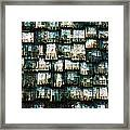 The Domino Roof Framed Print