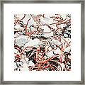 The Earthquake Worms Framed Print