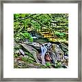 The Emerald Forest 14 Framed Print