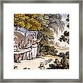 The Fair Penitent, From Ackermanns Framed Print by English School