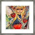 The Fairies Of Zodiac Series - Virgo Framed Print