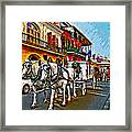 The Final Ride Painted Framed Print