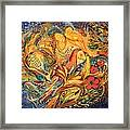 The Fishermen Village Framed Print