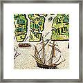 The French Discvoer Six More Rivers Framed Print