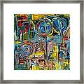 The Garden Framed Print by Andrea Vazquez-Davidson
