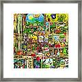 The Garden Cupboard Framed Print