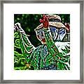 The Garden Guy Framed Print