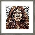The Girl With No Face Framed Print