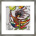 The Goddess Of Elements Framed Print
