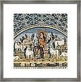 The Good Shepherd. 5th C. Italy Framed Print