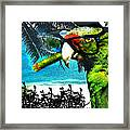 The Great Bird Of Casablanca Framed Print