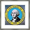 The Great Seal Of The State Of Washington Framed Print