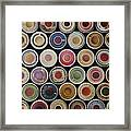 The Great Wall Of Tea Framed Print