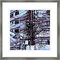 The Grid 3 Framed Print