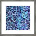 The Hidden Blue 2011 Framed Print