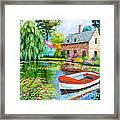 The House Pond Framed Print