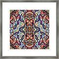 The Joy Of Design Mandala Series Puzzle 1 Arrangement 5 Framed Print