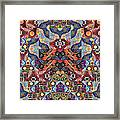 The Joy Of Design Mandala Series Puzzle 1 Arrangement 9 Framed Print