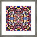The Joy Of Design Mandala Series Puzzle 3 Arrangement 1 Framed Print