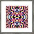 The Joy Of Design Mandala Series Puzzle 3 Arrangement 4 Framed Print
