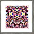 The Joy Of Design Mandala Series Puzzle 3 Arrangement 6 Framed Print