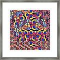 The Joy Of Design Mandala Series Puzzle 3 Arrangement 8 Framed Print