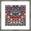 The Joy Of Design Mandala Series Puzzle 5 Arrangement 1 Framed Print