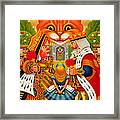 The King And Queen Of Hearts, 2010 Framed Print