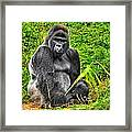 The King Framed Print by Mike Price