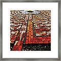 The Labyrinth Of St Luke's  Framed Print