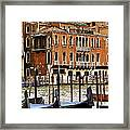 The Last Pigeon In Venice Framed Print