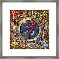 The Legacy Of The Devine Tarot Framed Print by Ciro Marchetti