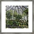 The Lincoln Park Conservatory Chicago-001 Framed Print