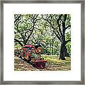 The Little Engine That Could - City Park New Orleans Framed Print